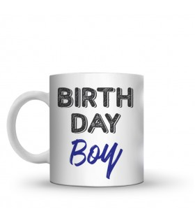 birthday boy printed mug