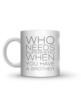 a brother printed mug