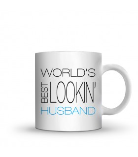 husband printed mug