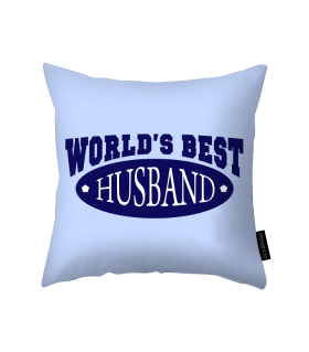 best husband printed pillow