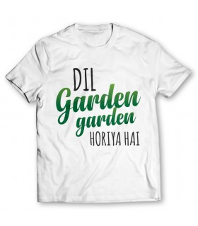 dil garden printed graphic t-shirt
