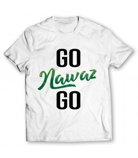 go nawaz go printed graphic t-shirt