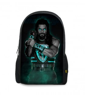 roman reigns printed backpacks