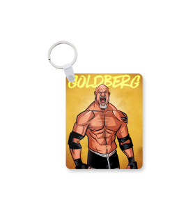 goldberg printed keychain