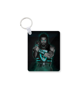 roman reigns printed keychain