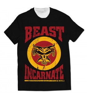 beast incarnate all over printed t-shirt