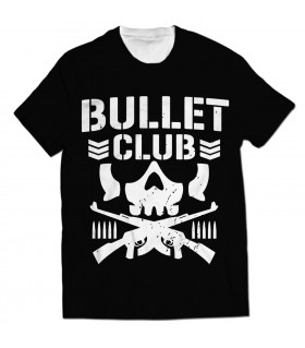 bullet club all over printed t-shirt