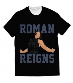 roman reigns all over printed t-shirt