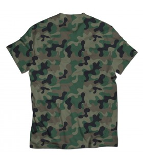 pak army 1947 all over printed t-shirt