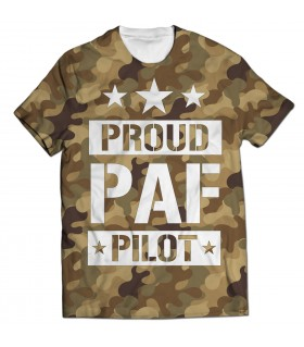 proud paf all over printed t-shirt