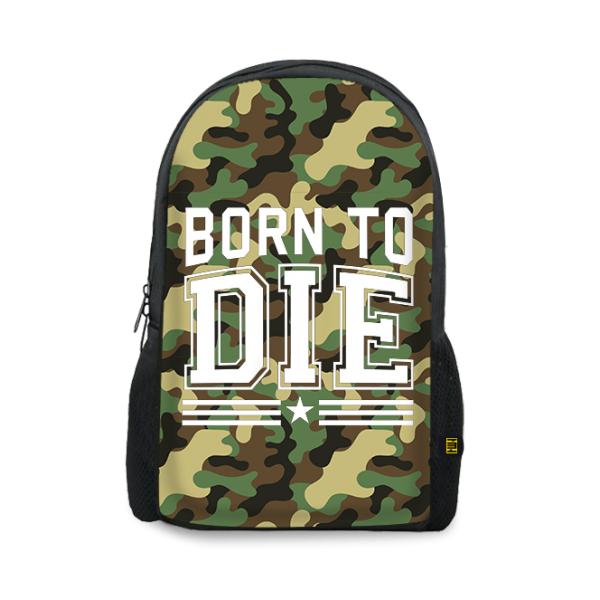 Born To Die Printed Backpacks