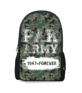 pak army 1947 printed backpacks