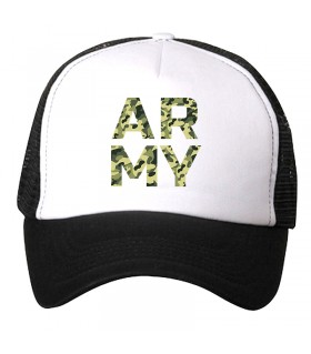 army printed cap