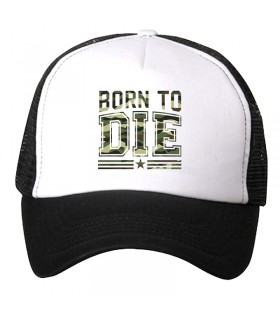 born to die printed cap