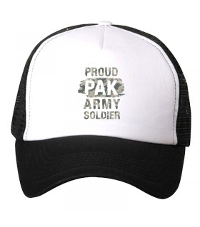 proud pak army soldier printed cap