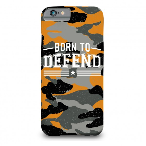 Born To Defend Printed Mobile Cover
