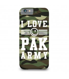 i love pak army printed mobile cover