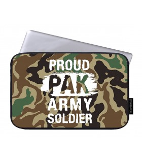 army soldier printed laptop sleeves