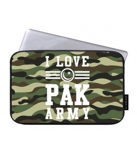 i love pak army printed laptop sleeves