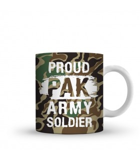army soldier printed mug