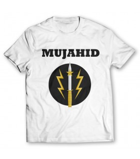 mujahid printed graphic t-shirt