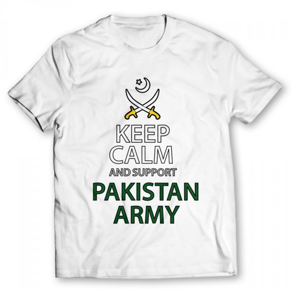 Pakistan Army Printed Graphic T-Shirt
