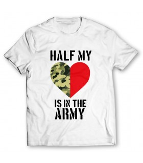 the army printed graphic t-shirt