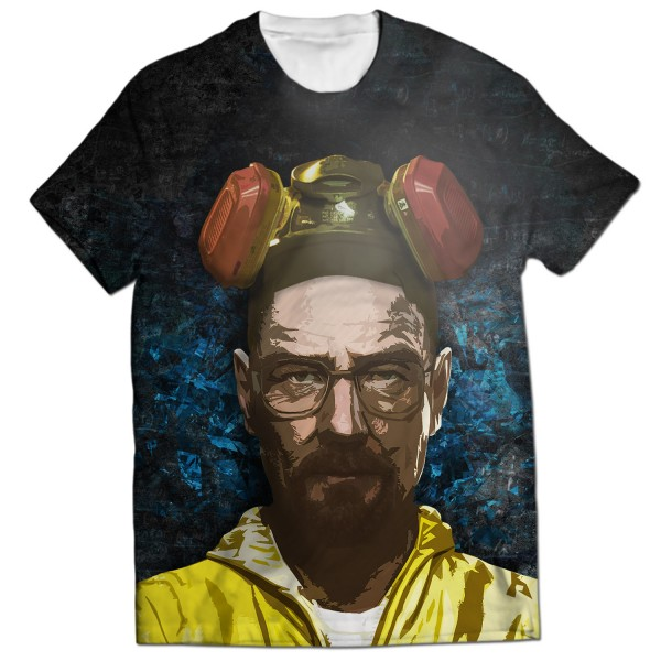 Breaking Bad All Over Printed T-shirt