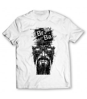 breaking bad printed graphic t-shirt