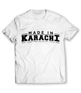 made in karachi printed graphic t-shirt