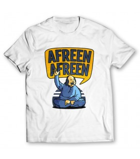 nfak afreen printed graphic t-shirt