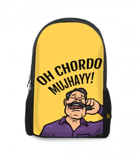 uncle majboor printed backpacks