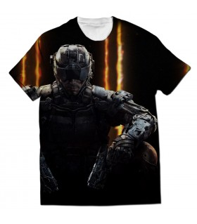 Call of duty Black ops all over printed t-shirt