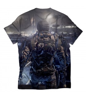 call of duty all over printed t-shirt