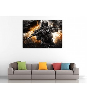 call of duty canvas frames