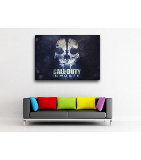 call of duty ghost canvas frames