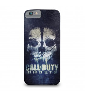 call of duty ghost printed mobile cover