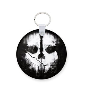 call of duty ghost printed keychain