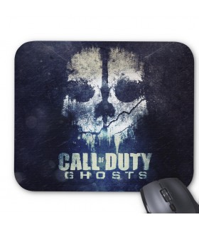 call of duty ghost printed mouse pad