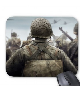 call of duty world war 2 printed mouse pad