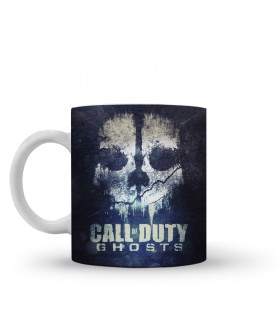 call of duty ghost printed mug
