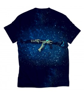 AK47 Vulcan all over printed t-shirt