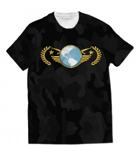 Global Elite all over printed t-shirt