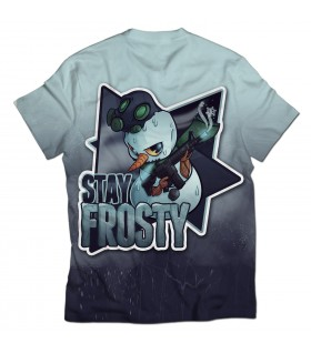 Stay Frosty all over printed t-shirt