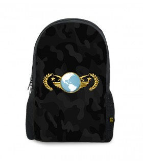 Global Elite printed backpacks