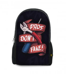 Pros Dont Fake printed backpacks