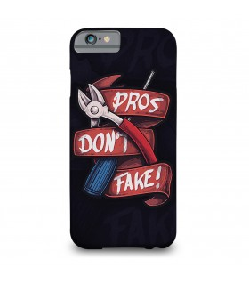 Pros Dont Fake printed mobile cover