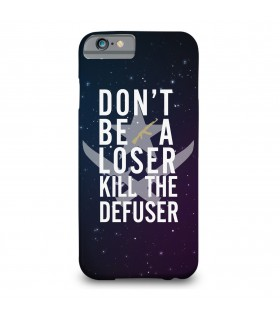 kill the defuser printed mobile cover