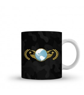 Global Elite printed mug