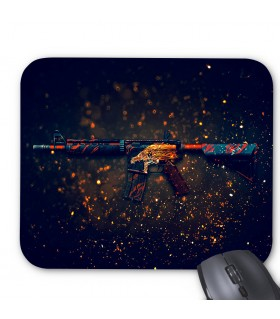 M4A4 Howl printed mouse pad